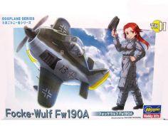 하세가와 달걀 비행기 Focke-Wulf Fw190A 만들기